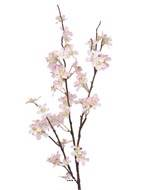 Branche de Pommier artificiel Rose tendre, H 84 cm